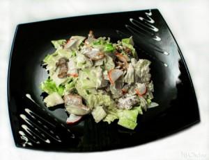 Салат смясом «белград»